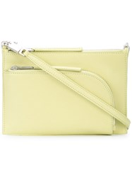 Rick Owens Club Pouch Yellow And Orange