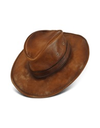 Pratesi Genuine Leather Hat