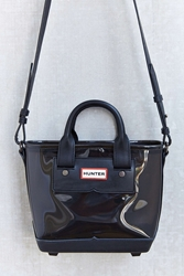 Hunter Original Clear Mini Tote Bag Grey