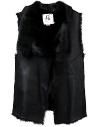 Figue 'Naomi' Reversible Gilet Black
