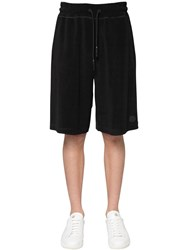 Moncler Cotton Track Shorts Black