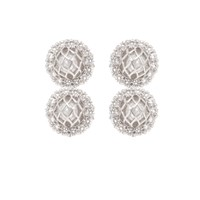 Matara Signature Cz 2P Earrings White Gold