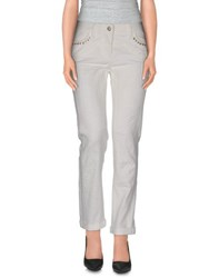 Roberto Cavalli Trousers Casual Trousers Women Ivory