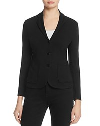 Majestic Filatures Three Button French Terry Blazer Noir
