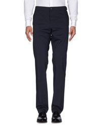 Faconnable Casual Pants Dark Blue