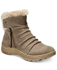 Bare Traps Amelya Cold Weather Booties Women's Shoes Mushroom