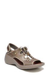 Bzees Juicy Sandal Bronze Fabric