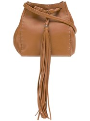Henry Beguelin Bucket Shoulder Bag Brown