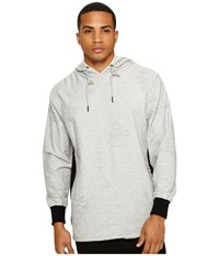 Publish Zain Hooded Sweater Heather Men's Sweater Gray