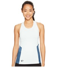 Pearl Izumi Journey Tank Skylight Blue Steel Women's Sleeveless White