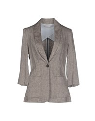 Stefanel Suits And Jackets Blazers Women Grey