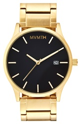Mvmt Bracelet Watch 40Mm Gold Black