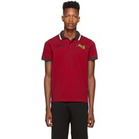 Kenzo Red Jumping Tiger Polo