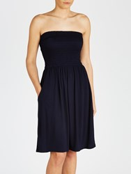 John Lewis Jersey Bandeau Dress Navy