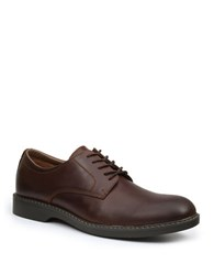 Bass Pasadena Leather Upper Oxfords Dark Brown