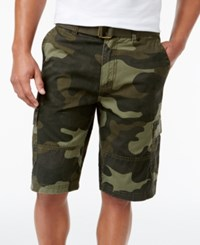 American Rag Men's Camouflage Cargo Shorts Only At Macy's