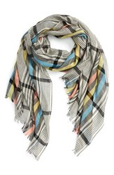 Women's Standard Form 'Pyt' Plaid Silk And Cashmere Scarf