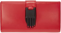 Opening Ceremony Red Patent Leather Misha Wallet