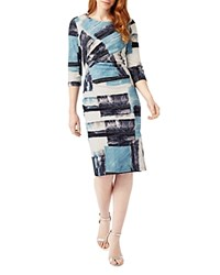 Phase Eight Novella Abstract Print Dress Multicolour