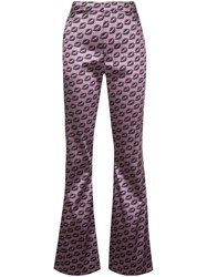 Cynthia Rowley Breslin Flared Trousers 60