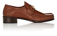 Gucci Men's Vegas Leather Loafers Tan