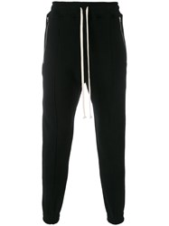 Represent Pleated Detail Track Trousers Black