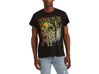 Madeworn Misfits Distressed Cotton T Shirt Black
