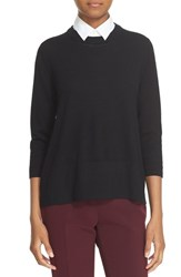 Kate Spade Women's New York Collared Relaxed Wool Sweater