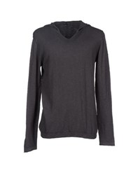 Andrea Morando Knitwear Jumpers Men Steel Grey