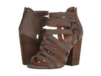 Not Rated Feelin Strappy Taupe Women's Shoes