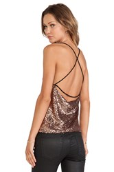 Wyldr Wise Up Cami Top Metallic Bronze