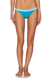 Marc By Marc Jacobs Color Block Bikini Bottom Teal