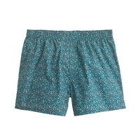 J.Crew Speckled Floral Boxers Warm Mineral