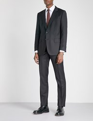 Gieves And Hawkes Regular Fit Wool Suit Black