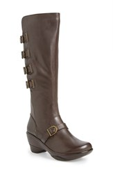 Women's Jambu 'Firery' Water Resistant Knee High Buckle Boot 2 1 2' Heel