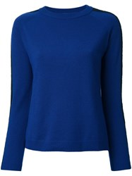 En Route Crew Neck Jumper Blue