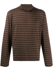 Our Legacy Artist Metallized Top Brown