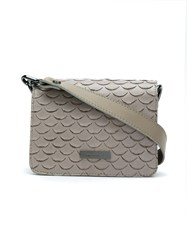 Mara Mac Leather Crossbody Bag Nude And Neutrals