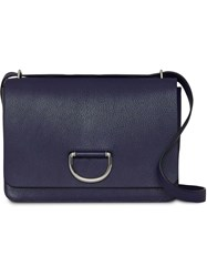 Burberry The Medium Leather D Ring Bag Blue