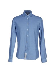 Macchia J Shirts Shirts Men Blue