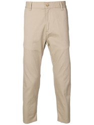 Covert Cropped Chinos Neutrals
