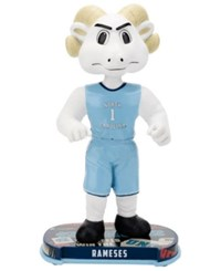 Forever Collectibles Rameses North Carolina Tar Heels Headline Bobblehead Blue