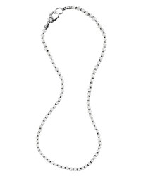 Lagos Sterling Silver Luna Freshwater Pearl Necklace 18 No Color
