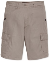 Quiksilver Measure Cargo Shorts Metal