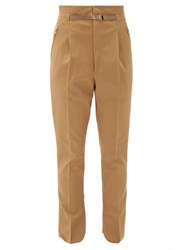 Toga High Waist Tailored Trousers Beige