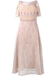 Valentino 'Russian Ballet' Dress Nude Neutrals