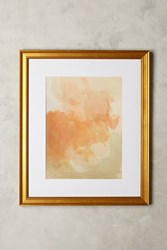 Anthropologie Garden Cavort Wall Art Coral