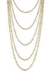Pippa Small Gold Plated Silver Necklace With Lapis Gr. One Size