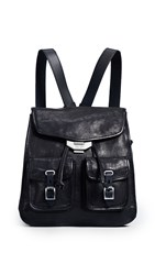Rag And Bone Small Field Backpack Black