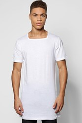 Boohoo T Shirt With Square Neck White